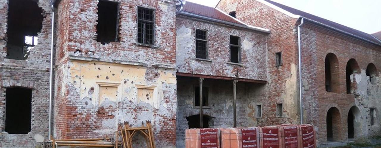 Обнова Епархијског двора